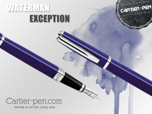 Waterman Exception Pen